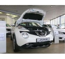 Упоры капота для Nissan Juke от 2011 г.в.