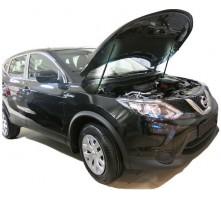Упоры капота для Nissan Qashqai от 2014 г.в.