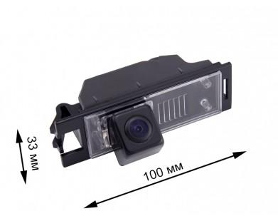 Камера заднего вида с динамической разметкой Pleervox для Hyundai Tucson от 2015 г.в