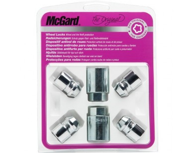 Комплект секретных гаек McGard 35000 SU M12х1,5 (4 гайки, 2 ключа 19 мм)