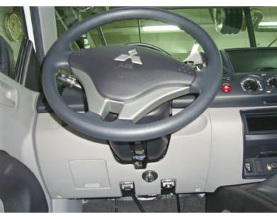 Блокиратор руля для Mitsubishi Pajero 4 09-12 г.в. (Sentry Spider)