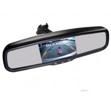 Зеркало с монитором Pleervox PLV-MIR-43STC для Chevrolet (ультраяркий экран 4.3 дюйма)