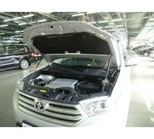 Упоры капота для Toyota Highlander от 2012 г.в.