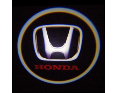 Подсветка дверей с логотипом HONDA