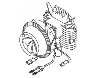 Мотор нагнетателя для АТ3500 МВ Webasto (9001517A)