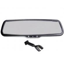 Зеркало с монитором Pleervox PLV-MIR-43STC для Nissan (сверхъяркий экран 4.3 дюйма)