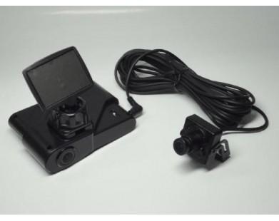 Видеорегистратор Polyvision PVDR-0263 auto со встроенной и внешней камерой
