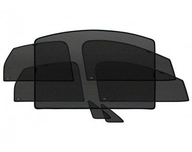 Шторки для Mercedes-Benz (полный комплект)