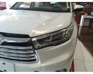 Передние фары V14 type для Toyota Highlander 2014 - 2016 г.в.