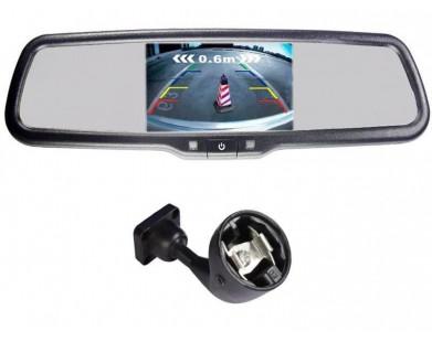 Зеркало с монитором Pleervox PLV-MIR-50STC для Skoda (экран 5 дюймов)