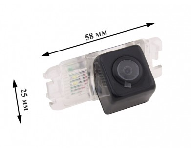 Камера заднего вида Pleervox PLV-AVG-F для Ford Explorer от 12 г.в., ECOSPORT 2017 г в.