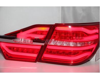 Задние фары BW style Red color для Toyota Camry V55 2014 - 2015 г.в.