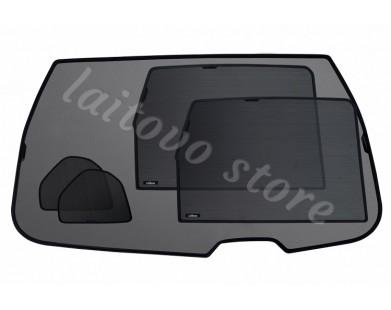 Шторки для Dacia (задняя полусфера)