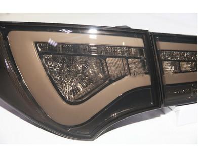 Задние фары Light Smoke Black WH type для Hyundai Santa Fe от 2012 г.в.