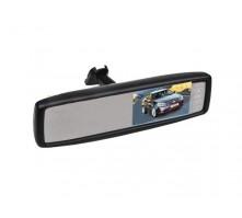 """Зеркало Pleervox PLV-MIR-43STBL заднего вида с монитором 4.3"""" и крепежом для Chevrolet (с Bluetooth)"""