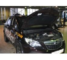 Упоры капота для Opel Mokka от 2012 г.в.