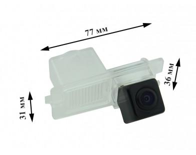 Камера заднего вида с динамической разметкой Pleervox для SsangYong Actyon, Actyon Sport, Cyron, Rexton