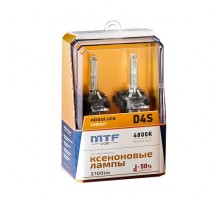 Ксеноновые лампы MTF Light Absolute Vision D4S 4800K