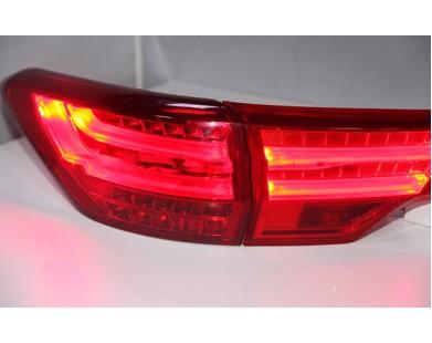 Задние фары Red для Toyota Highlander  2014 - 2016 г.в.