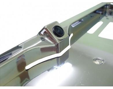 Камера заднего вида в рамке номерного знака Pleervox (универсальная)