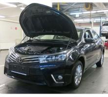 Упоры капота для Toyota Corolla от 2013 г.в.