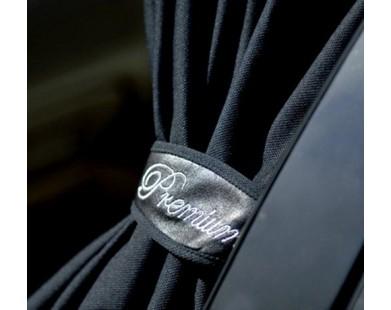Автомобильные шторки черные (размер М, 60 см.)