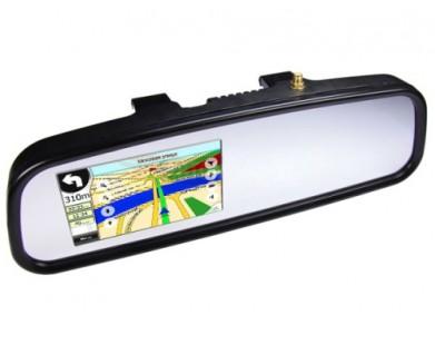 Зеркало-видеорегистратор Pleervox PLV-MIR-NAV01 со встроенным навигатором (экран 5 дюймов)