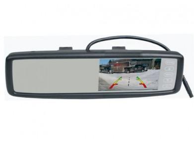 """Универсальное зеркало Pleervox PLV-MIR-43 заднего вида с монитором 4.3"""""""