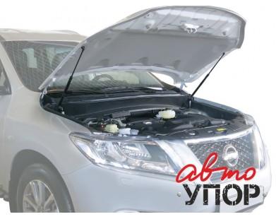 Упоры капота для Nissan Pathfinder от 2014 г.в.