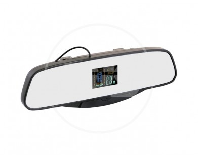 Парктроник Silver Star 038.0059.000 (4 черных датчика) с индикацией на зеркале