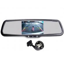 Зеркало с монитором Pleervox PLV-MIR-50STC для Volkswagen (экран 5 дюймов)
