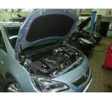 Упоры капота для Opel Astra J