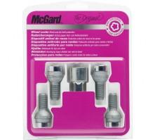 Комплект секретных болтов McGard 28028 SL M12x1,5 (4 болта, ключ 17 мм)