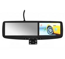 """Зеркало заднего вида с монитором ER440DVR 4,3"""" , видеорегистратором и навигатором."""