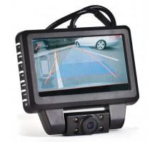 Автомобильный монитор LCD 4.3 дюйма с видеорегистратором ERGO ER530DVR