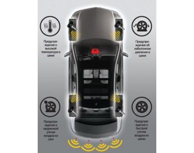Система контроля давления в шинах ParkMaster TPMS 4-04 (+ парктроник)