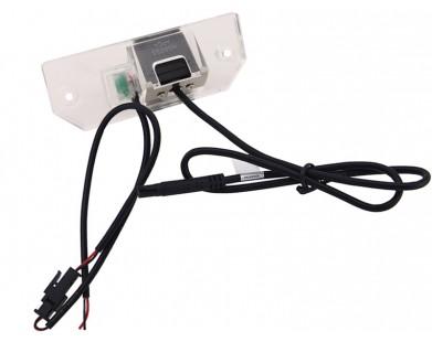 Камера заднего вида с динамической разметкой Pleervox для Ford Focus II (седан), C-Max