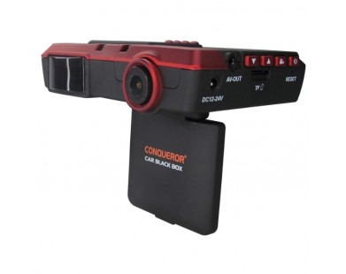 Видеорегистратор Conqueror 1698H с радар-детектором и GPS