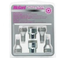 Комплект секретных болтов McGard 37000 SL M14x1,5 (4 болта, 2 ключа 19 мм)