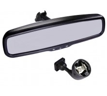 Зеркало с монитором Pleervox PLV-MIR-43STCBL для Skoda (сверхъяркий экран, Bluetooth)
