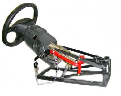 Блокиратор руля для Huyndai Santa Fe 12-13 г.в. АКПП (Sentry-Spider)