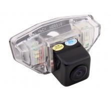 Камера заднего вида с динамической разметкой Pleervox для Honda CR-V, Crosstour, Jazz, Civic (5 дв.) от 2011 г.в