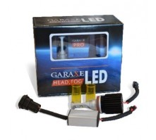 Комплект светодиодных ламп Garaxe PRO 5200К / 3200К под цоколи Н8, Н11, Н16 (белый / желтый свет)
