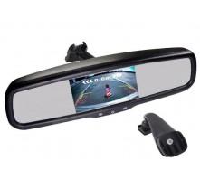 Зеркало с монитором Pleervox PLV-MIR-50STCBL для Renault (экран 5 дюймов, Bluetooth)