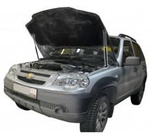Упоры капота для Chevrolet Niva от 2002 г.в.