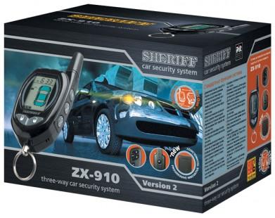 Автосигнализация Sheriff ZX-910v2