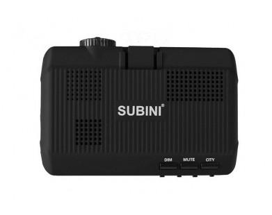 Full HD видеорегистратор с радар-детектором и GPS Subini STR GH7