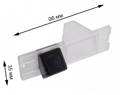 Камера заднего вида Pleervox PLV-CAM-MIT01 для Mitsubishi Pajero