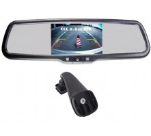Зеркало Pleervox PLV-MIR-50STC с монитором для Renault (экран 5 дюймов)