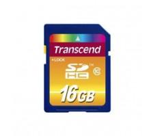 Карта памяти Transcend SDHC 16GB Class 10